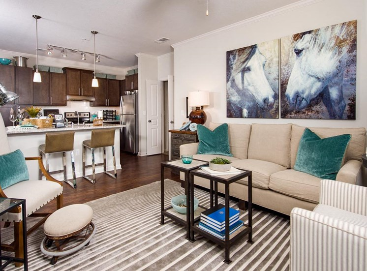 Walton Bluegrass Model Apartment, Alpharetta GA