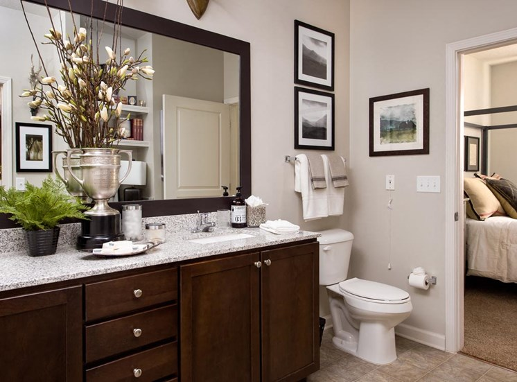 Walton Bluegrass Model Bathroom