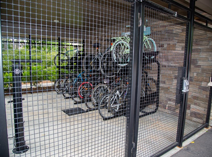 The Legacy at Walton Bluegrass Covered Bike Storage