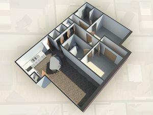 2 Bedroom A at Bear Village
