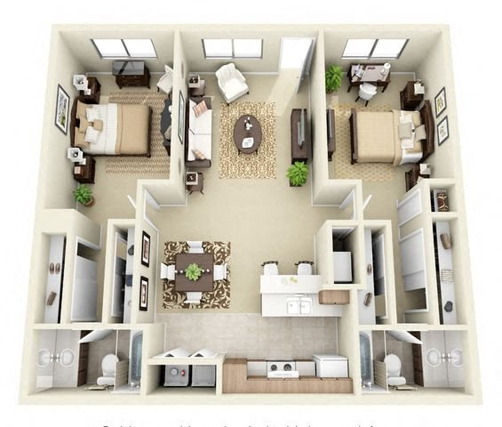 Available 3 Bedroom Apartments: The Vistas Apartment Homes In Laughlin