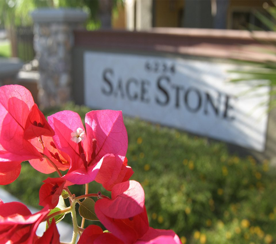 Image of the community sign at Sage Stone at Arrowhead