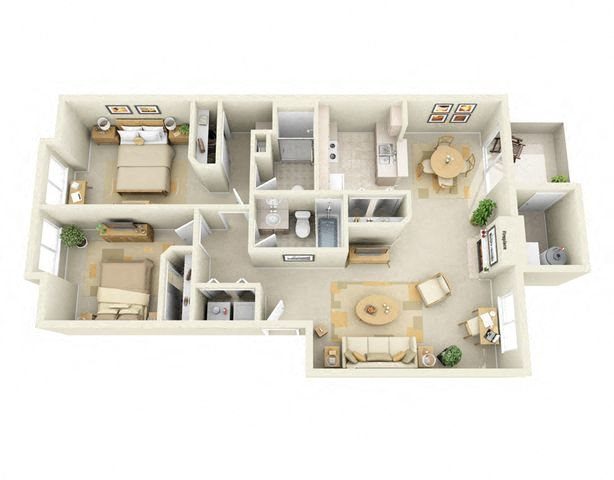 two Bedroom apartments for rent