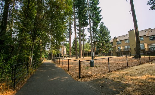 Spacious and Gated Dog Park at Pet Friendly Apartments in Hillsboro Near Orchard Park