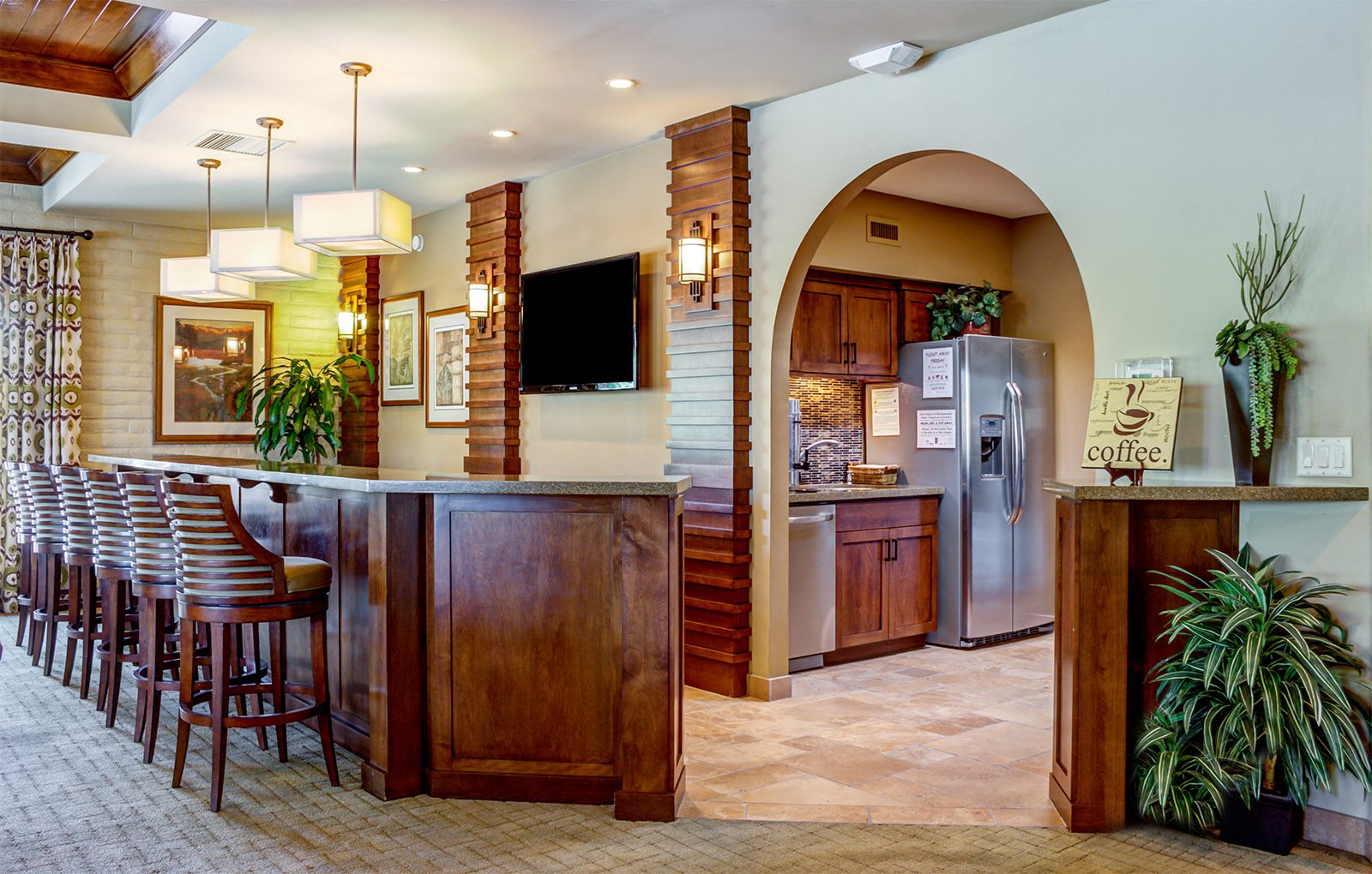 Image of the resident Clubhouse at Sonoran Terraces Apartment Homes in Tucson