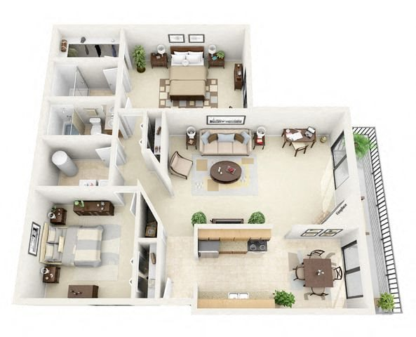 Sonoran terraces apartment homes 1 2 bedroom floor plans available for 3 bedroom apartments tucson az