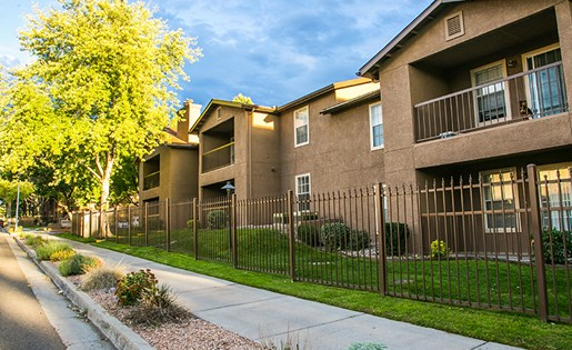 Gated Apartment Community in Albuquerque Near Kirtland Air Force Base