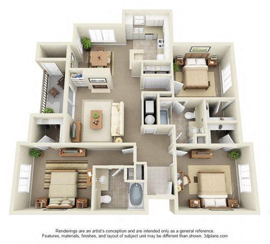 Highland Square Apartments: Pinnacle Highland Apartments