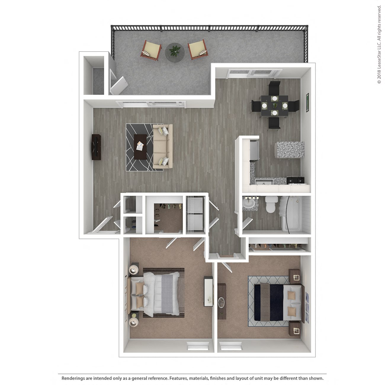 The Pine Floor Plan 5