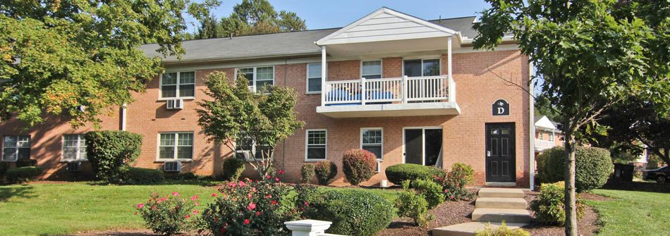 Exterior of The Villages of Lancaster Green Apartments in Lancaster PA
