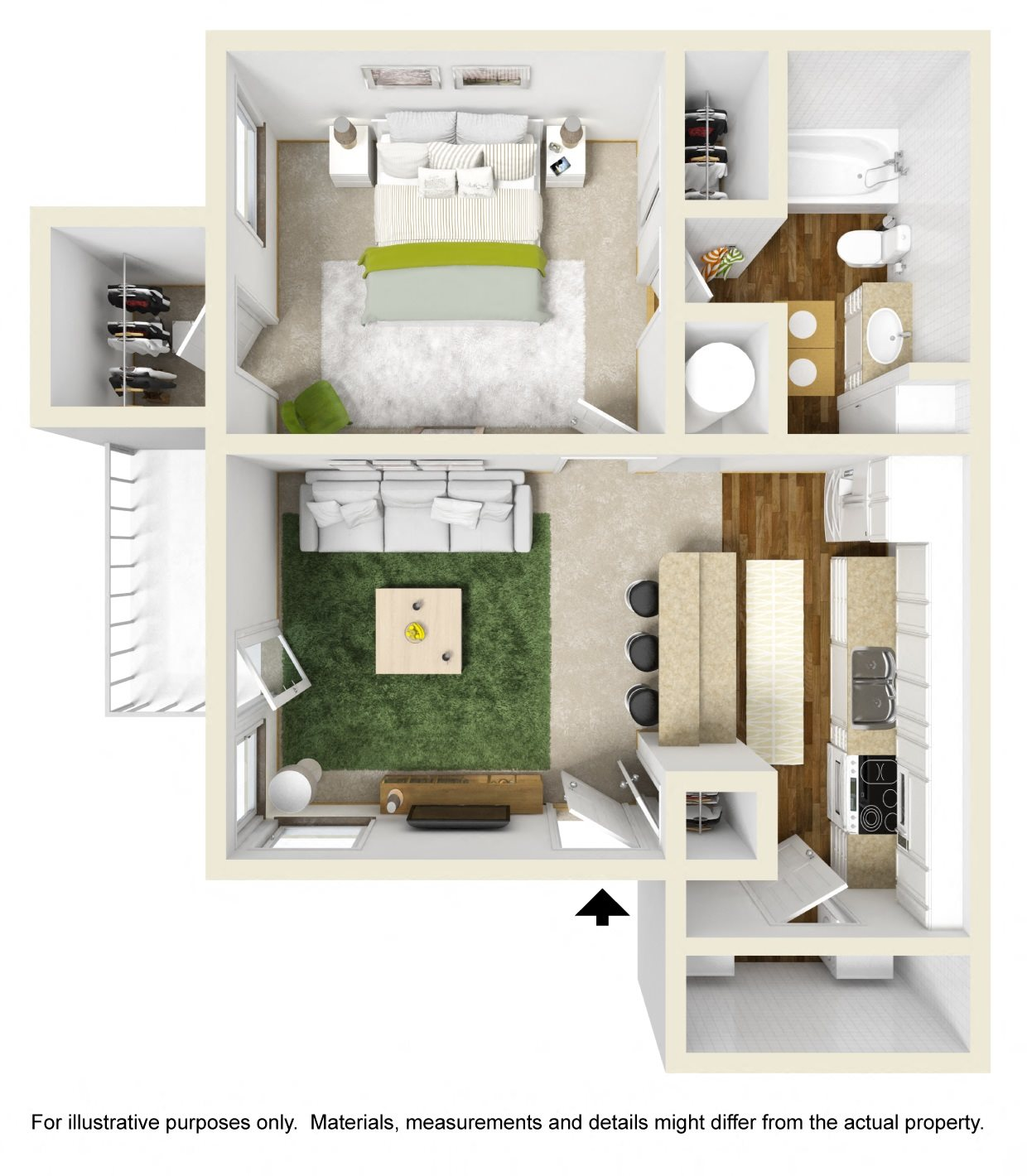 The Spruce Floor Plan 1