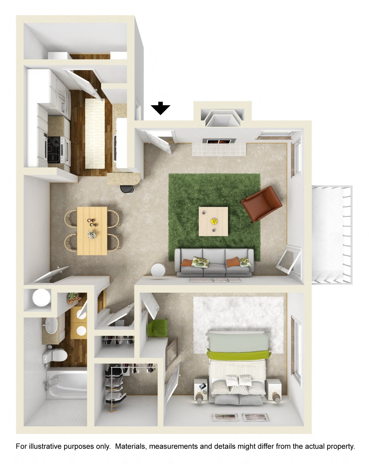 The Buttonwood Floor Plan 2