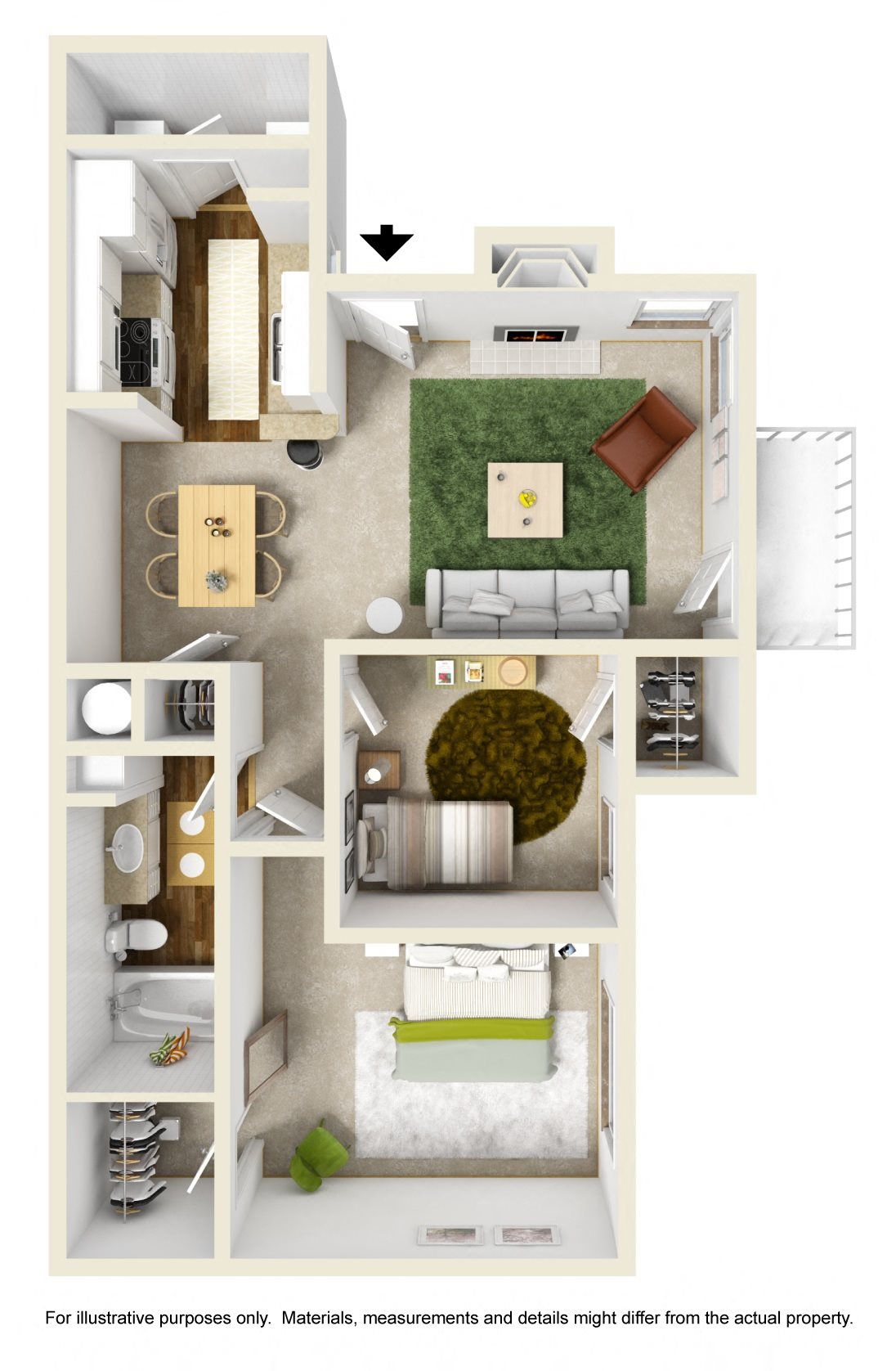 The Hemlock Floor Plan 3