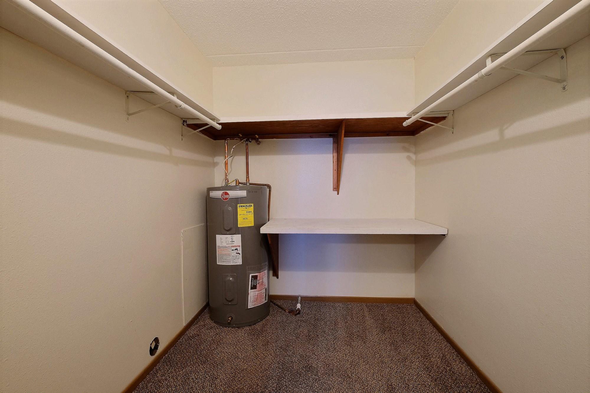 Alden Pines Apartments | 2 Bedroom | Storage Closet