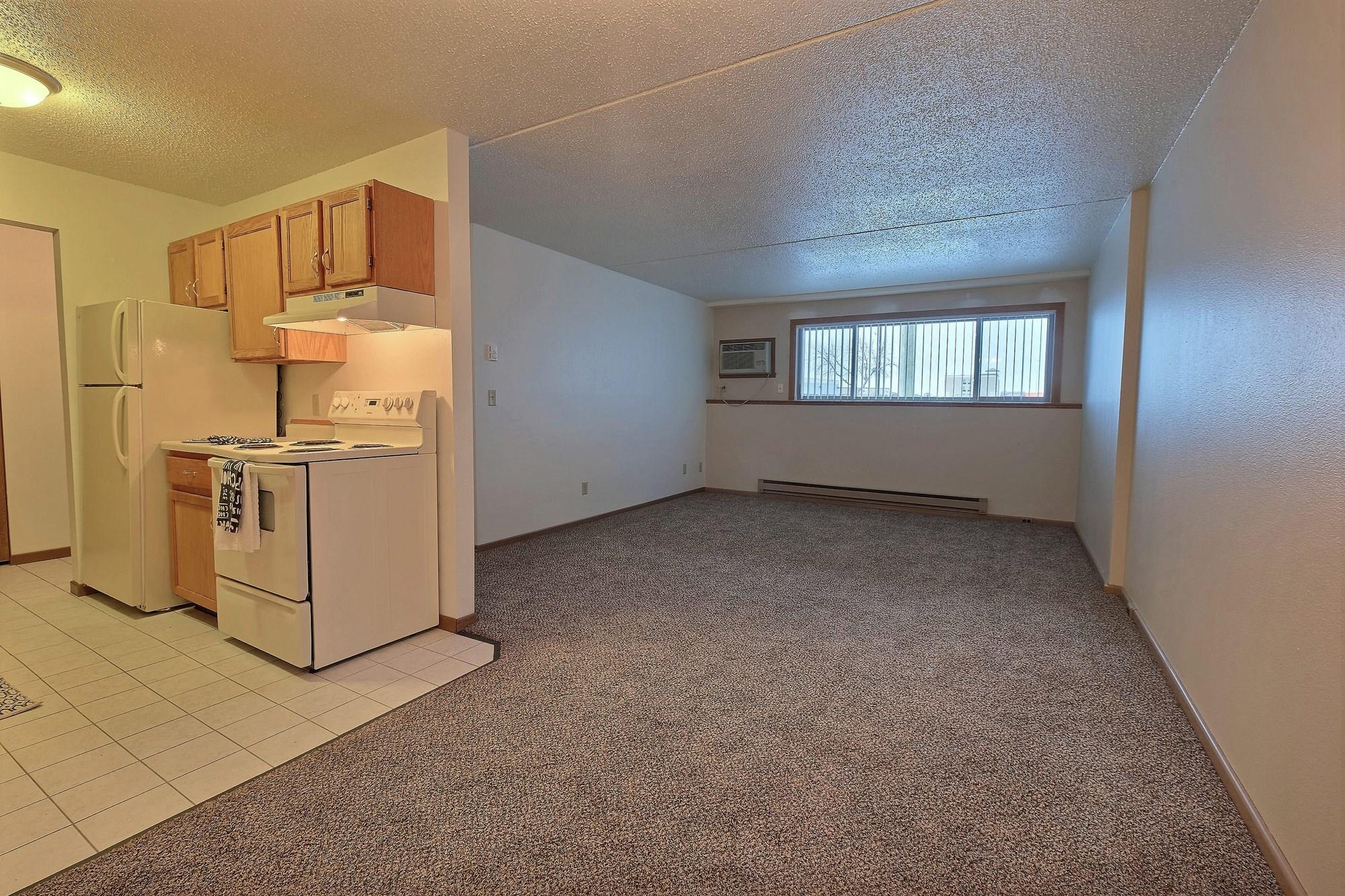Alden Pines Apartments | 2 Bedroom | Kitchen | Living Room