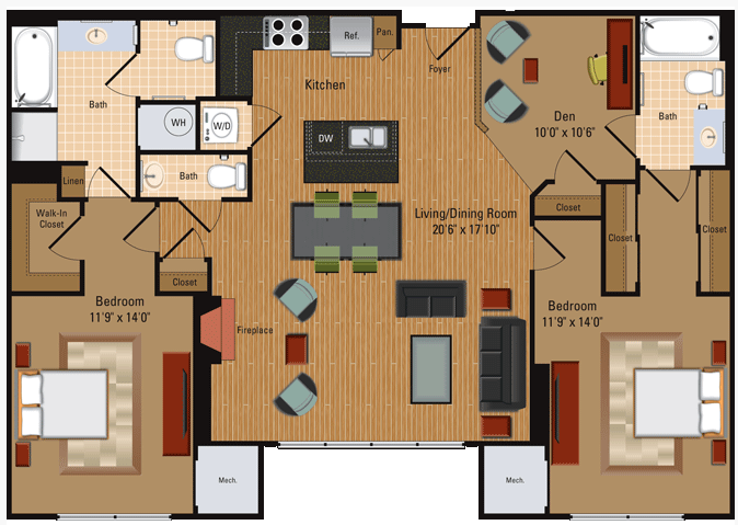 Penthouse - B5 Floor Plan 12