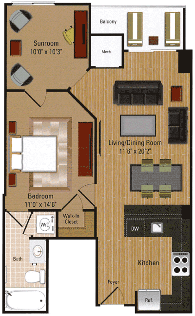 Penthouse - A3D Floor Plan 11