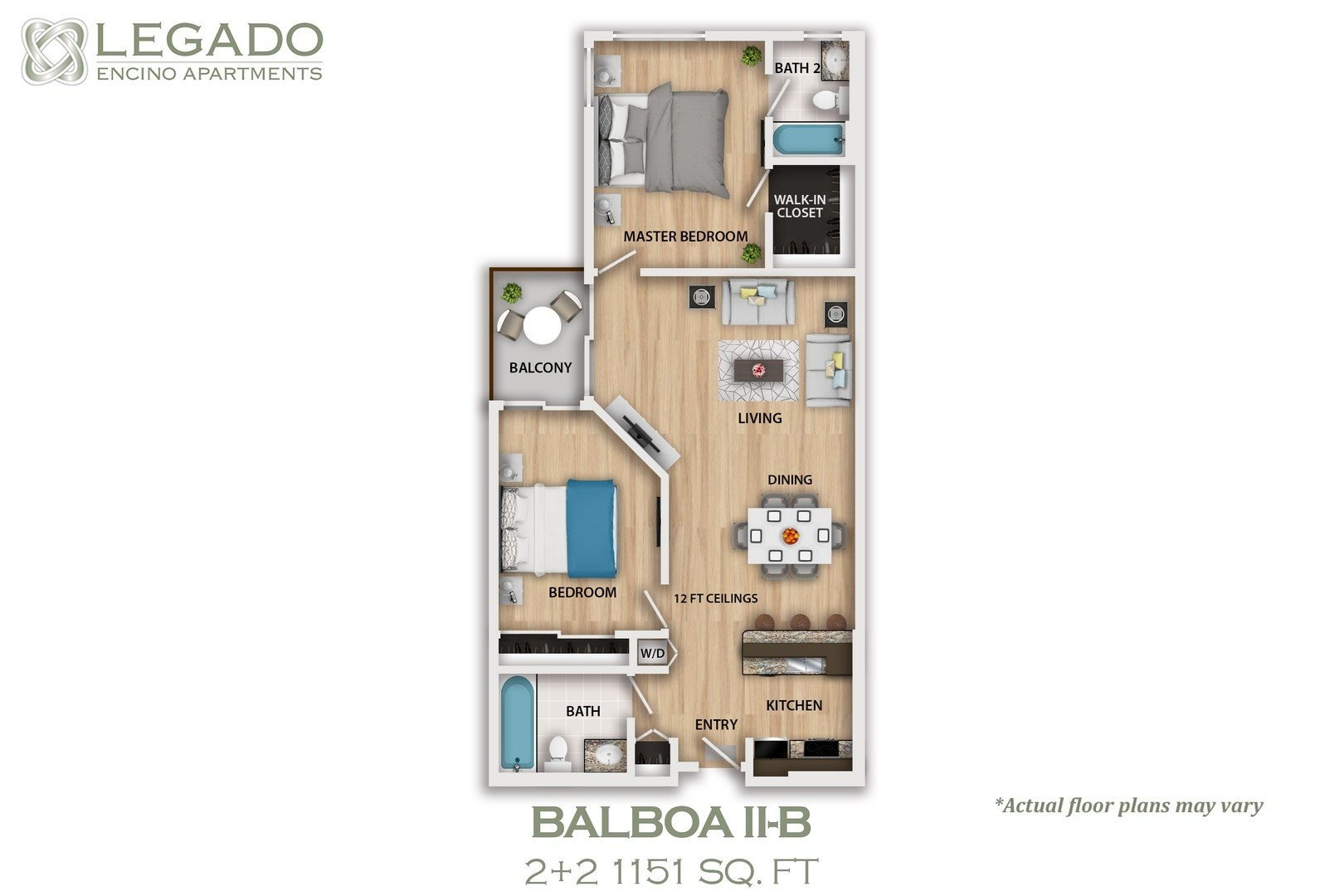 Balboa II-B Floor Plan 1