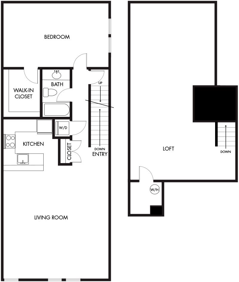2 Bedroom (B3-029) Floor Plan 16