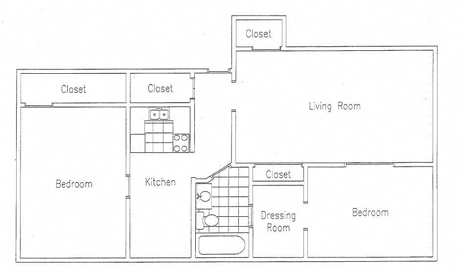 Floor Plans Of The Belmont Apartments In Minneapolis, MN