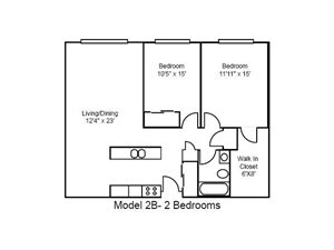 Two Bedroom, Large
