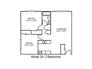 Two Bedroom, Standard