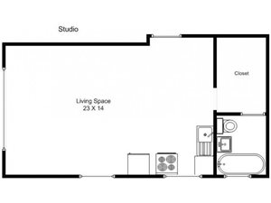 Studio Garden Level