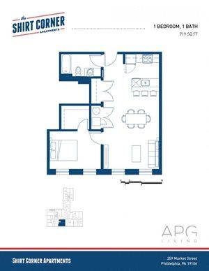 1 Bedroom - Floor Plan _11