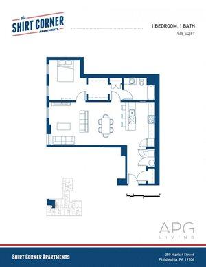1 Bedroom - Floor Plan _15