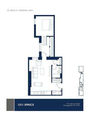 1 Bedroom - Floor Plan _02