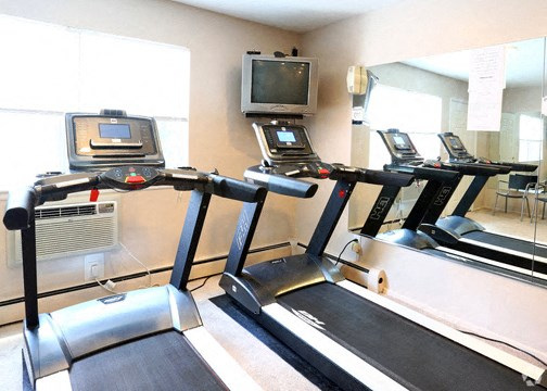 Cardio fitness on site - plus we have intro. passes to WB Family YMCA and a large great gym close by.