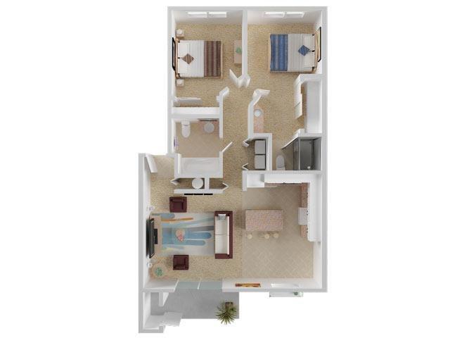 Grandfather Floor Plan 5