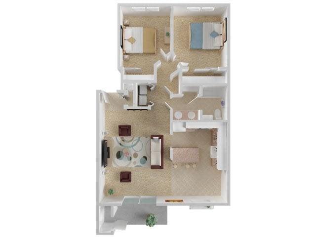 Hourglass Floor Plan 8