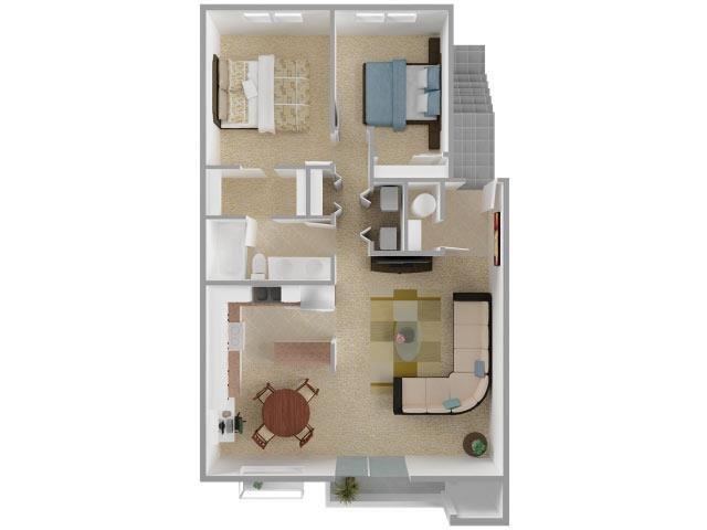 The Big Two Floor Plan 3
