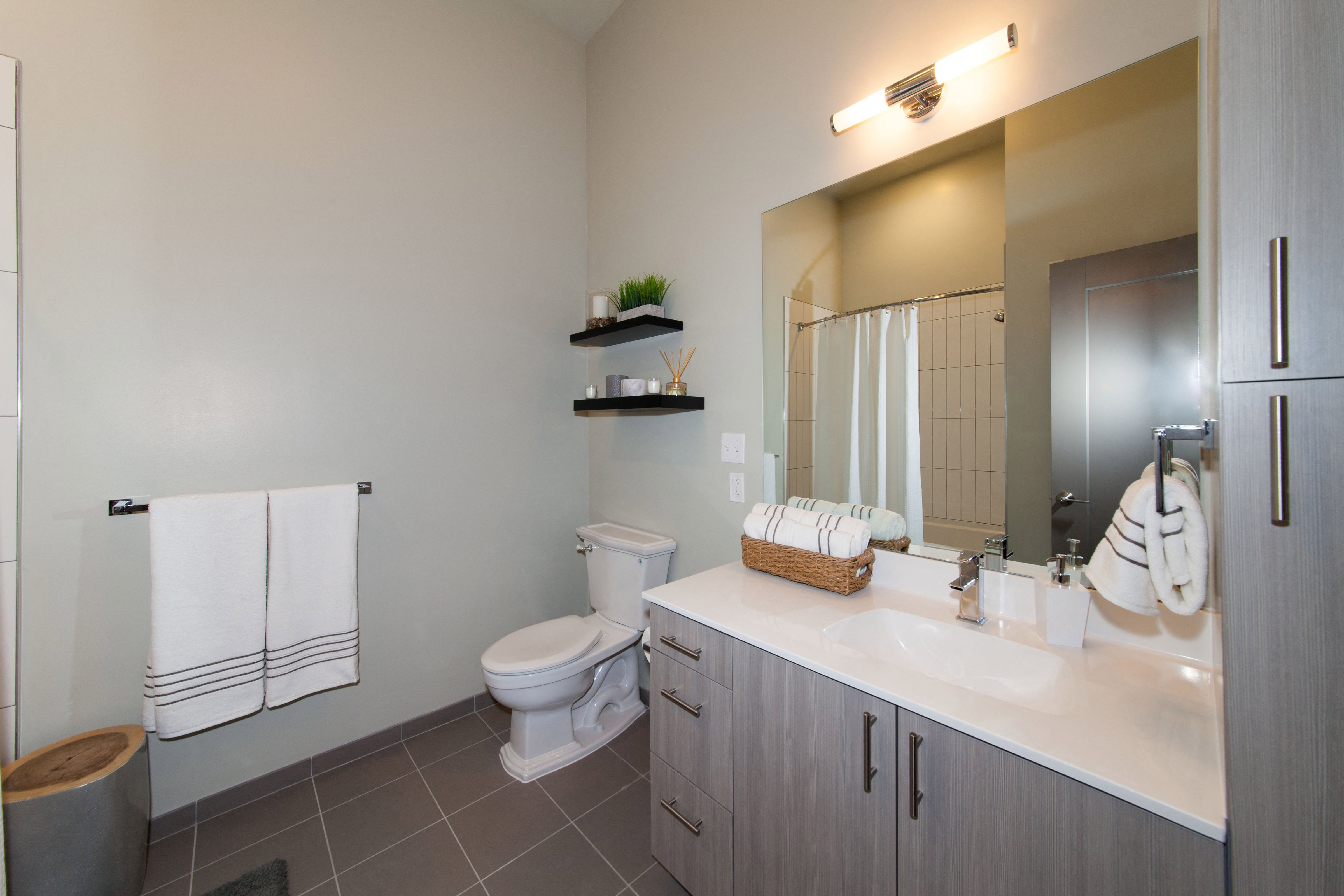 Spacious Bathrooms at The Tremont, Burlington, MA 01803