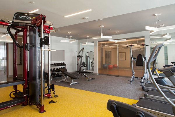 Full Fitness Center with Yoga Room at The Tremont, Massachusetts
