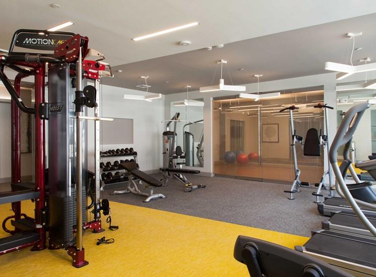 24 hour Fitness Center at The Tremont, Burlington, MA 01803