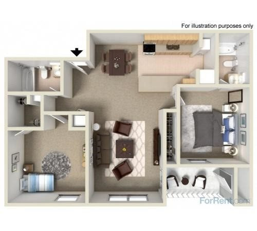 Westshore Floor Plan 4