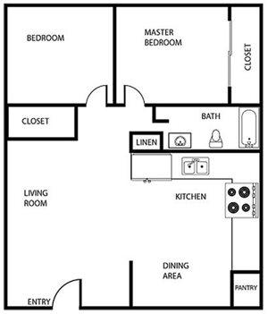 Kenwood Gardens - 2 Bedroom