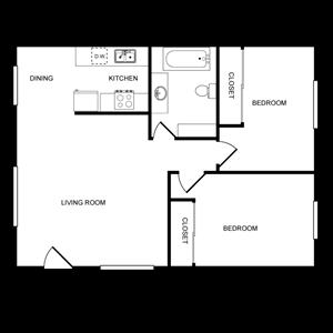 Laurel Lane - 2 Bedroom