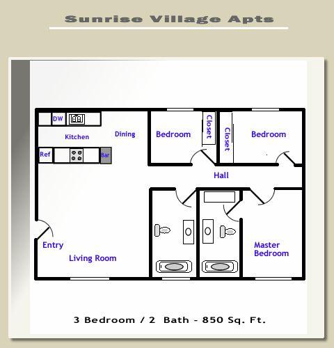 Sunrise Village - 3 Bedroom