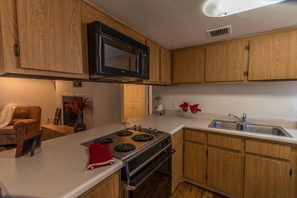 Kitchen at Casas Lindas Apartment Homes, AZ 85704