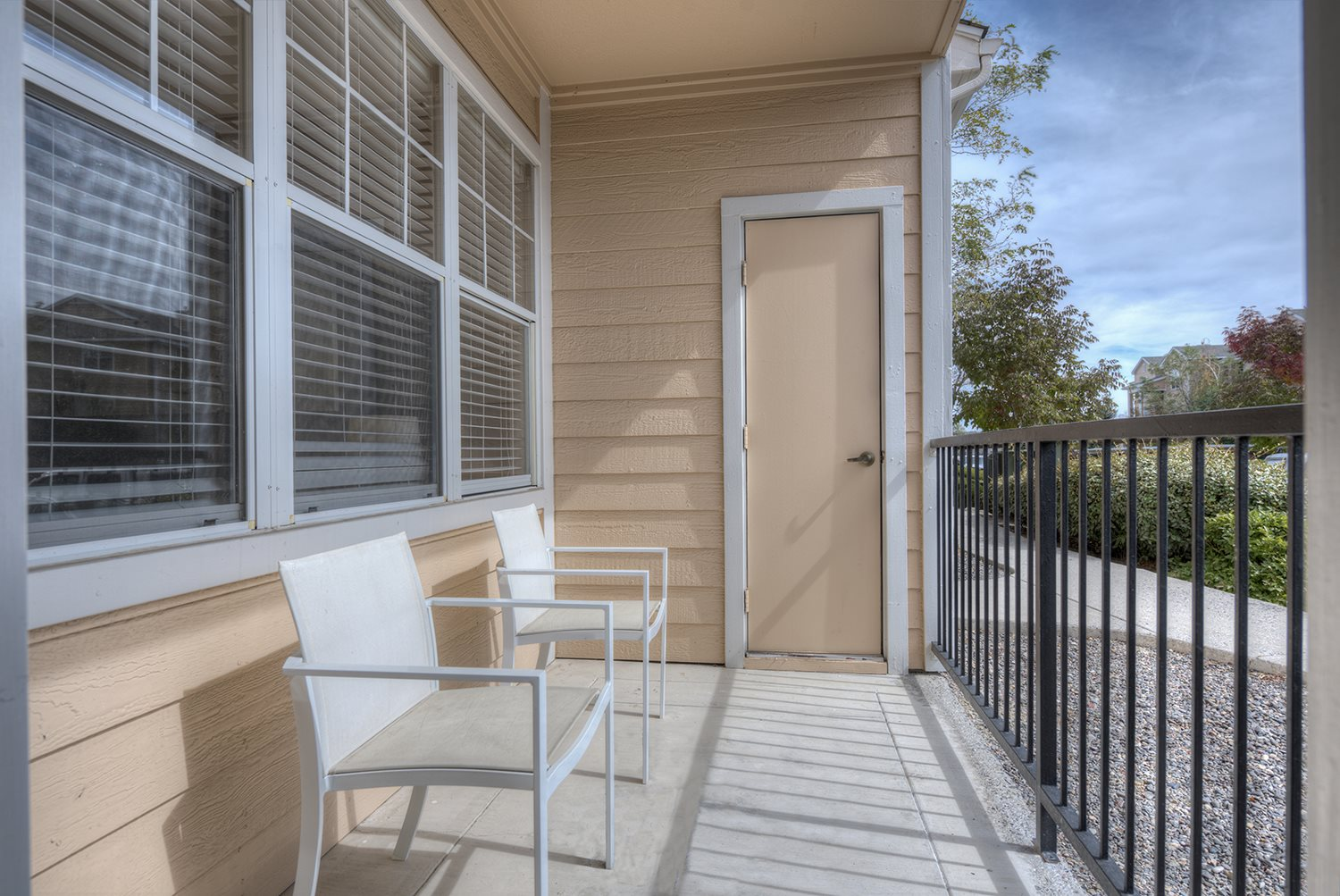 Patio/Balcony at Manzanita Gate Apartment Homes, 2475 Robb Drive, NV