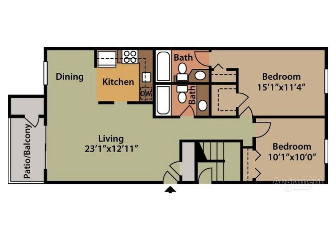 Chateau Floor Plan 5