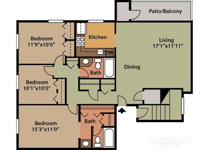 Dresden Floor Plan 8