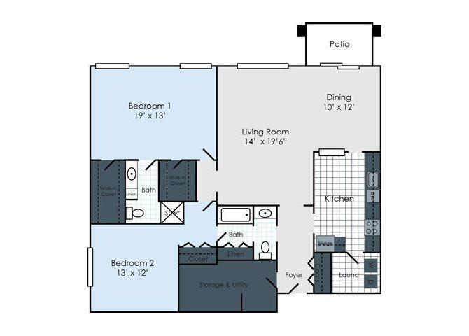 The Arlington Floor Plan 5