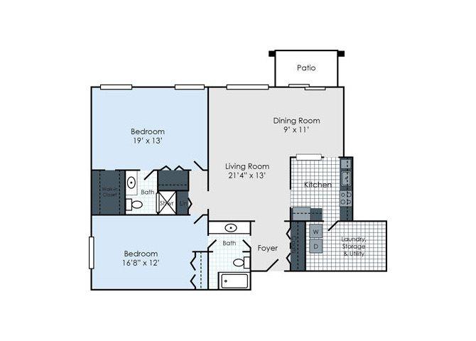 The Balfour Floor Plan 1