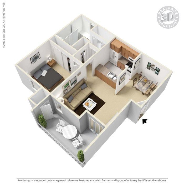 Pueblo Floor Plan 2