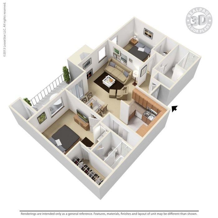 Taos Floor Plan 4