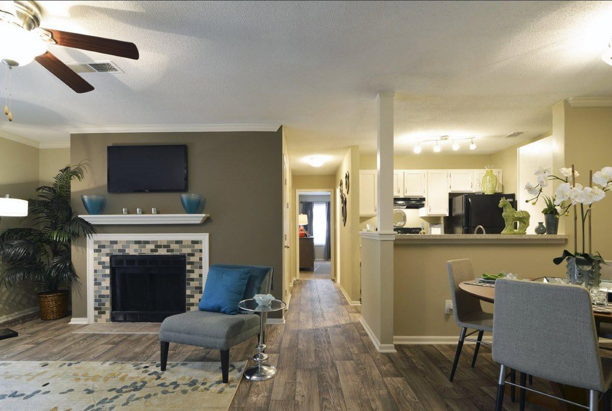 Model Living/Dining Room